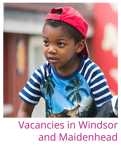 Link to vacancies in Windsor and Maidenhead